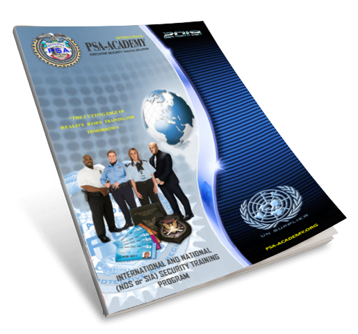 International and National Security Licence Courses Training Program
